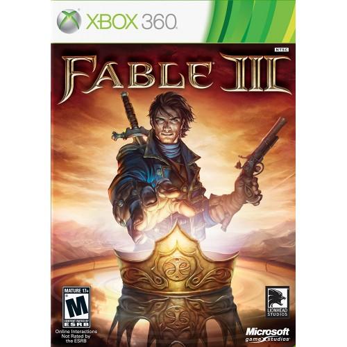 Fable III Xbox 360 Б/У купить в новосибирске