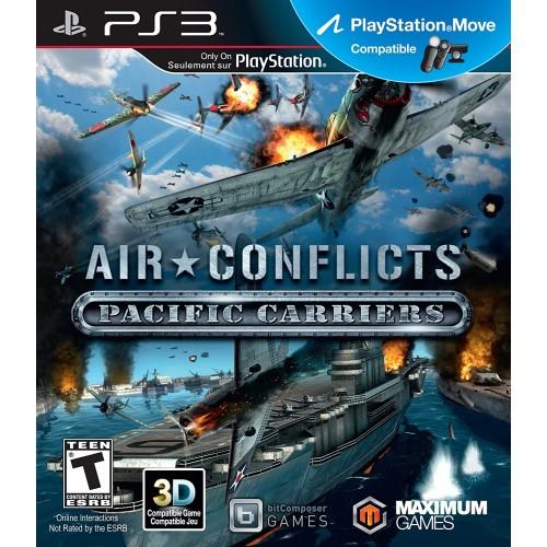 Air Conflicts Pacific Carriers PlayStation 3 Б/У купить в новосибирске