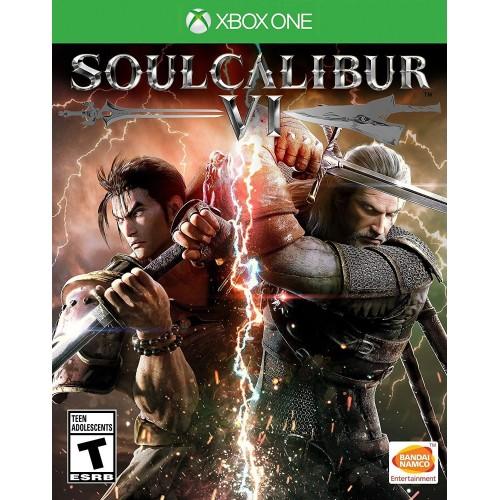 Soulcalibur VI Xbox One Б/У купить в новосибирске