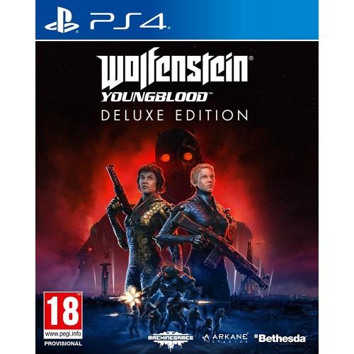 Wolfenstein Youngblood Deluxe Edition PlayStation 4 Б/У купить в новосибирске