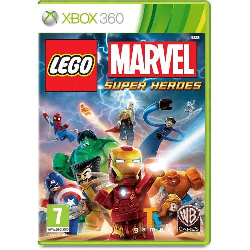 Lego Marvel Super Heroes Xbox 360 БУ купить в новосибирске