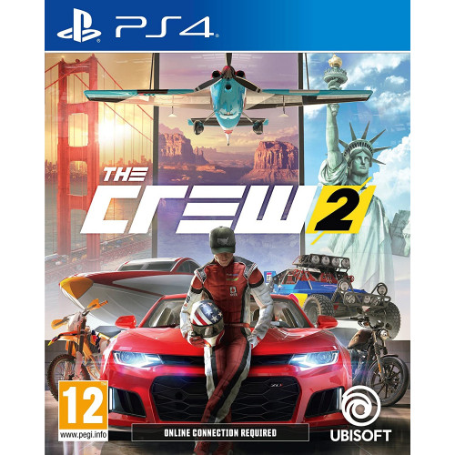 The Crew 2 PlayStation 4 Б/У купить в новосибирске