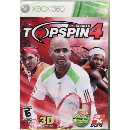 2K Sports TopSpin 4 Xbox 360 Б/У купить в новосибирске