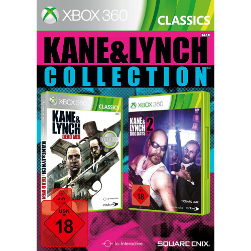 Kane and Lynch Collection Xbox 360 Б/У купить в новосибирске