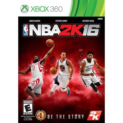 NBA 2k16 Xbox 360 Б/У купить в новосибирске