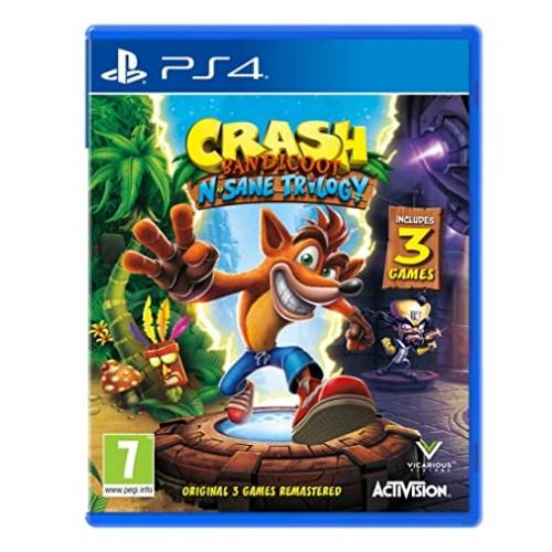 Crash Bandicoot Insane Trilogy PlayStation 4 Новый купить в новосибирске