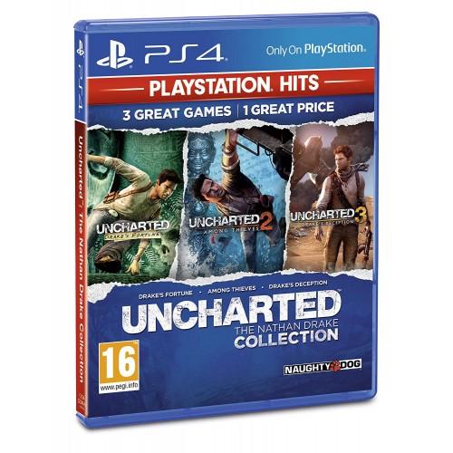 Uncharted Collection PlayStation 4 Б/У купить в новосибирске