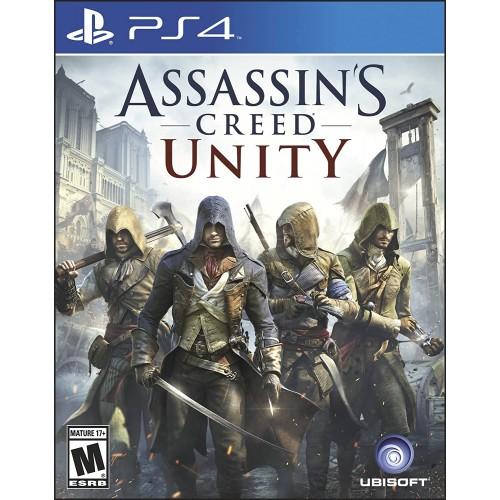 Assassins Creed Единство PS4 Б/У купить в новосибирске