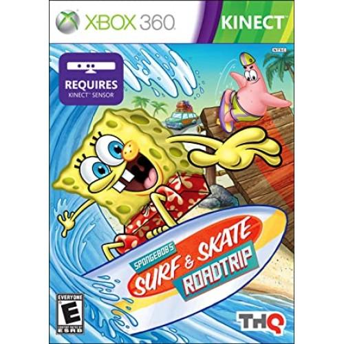 SpongeBob Squarepants Surf & Skate Roadtrip Xbox 360 Б/У купить в новосибирске