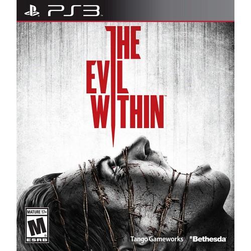 The Evil Within PlayStation 3 Б/У купить в новосибирске
