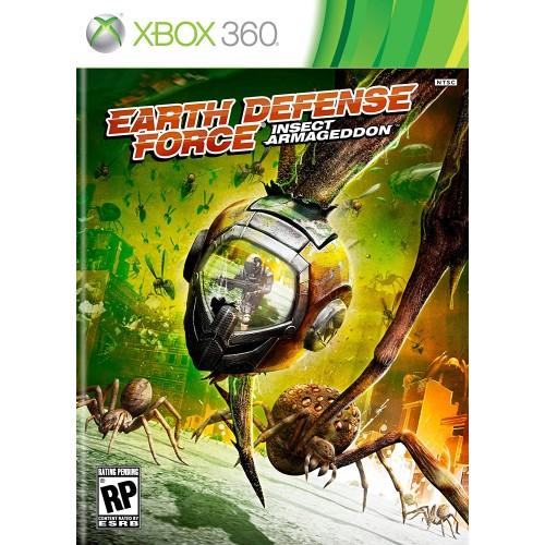 Earth Defense Force Insect Armageddon Xbox 360 Б/У купить в новосибирске