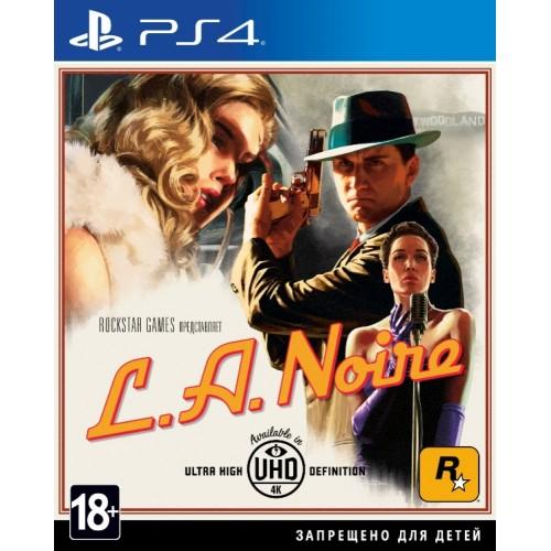 L.A. Noire. PlayStation 4 Б/У купить в новосибирске