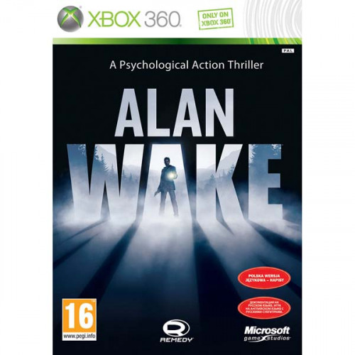 Alan Wake Xbox 360 Б/У купить в новосибирске
