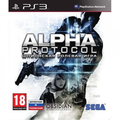 Alpha Protocol Playstation 3 Б/У купить в новосибирске