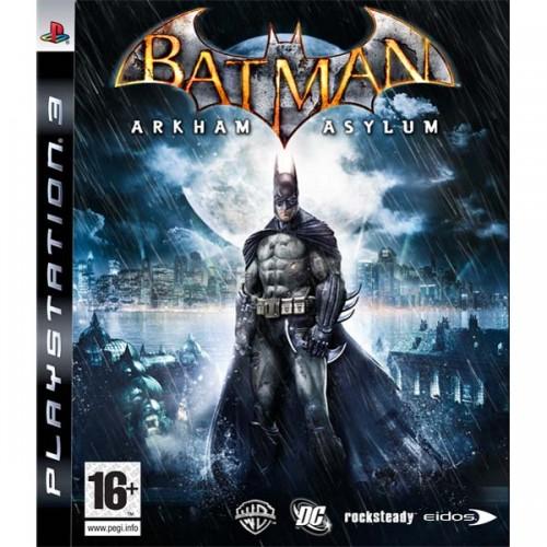 Batman Arkham Asylum Playstation 3 Б/У купить в новосибирске
