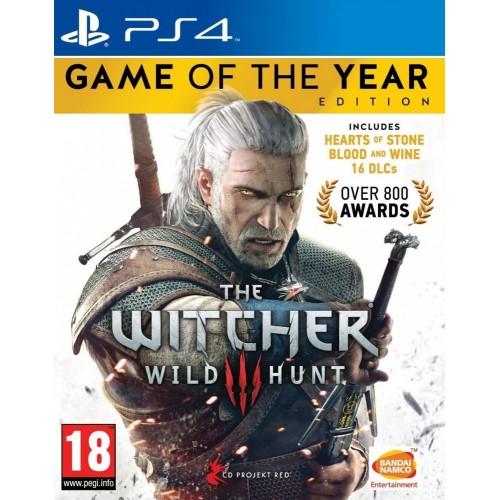 The Witcher 3 Wild Hunt GOTY PlayStation 4 Б/У купить в новосибирске