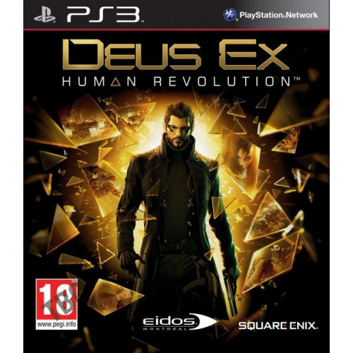Deus Ex: Human Revolution PlayStation 3 Б/У купить в новосибирске