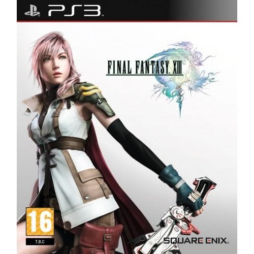 Final Fantasy XIII PlayStation 3 Б/У купить в новосибирске