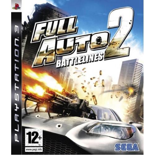 Full Auto 2: Battlelines PlayStation 3 Б/У купить в новосибирске