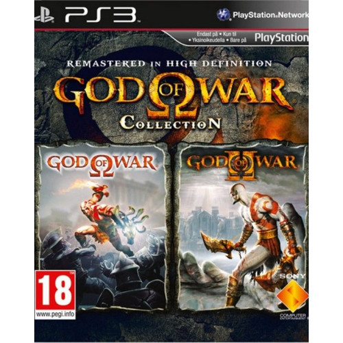 God of War Collection PlayStation 3 Б/У купить в новосибирске
