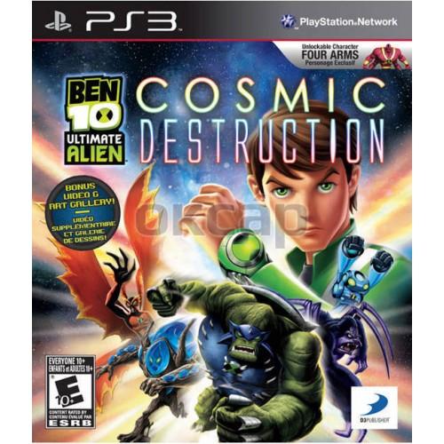 Ben 10 Ultimate Alien: Cosmic Destruction [PlayStation 3] купить в новосибирске
