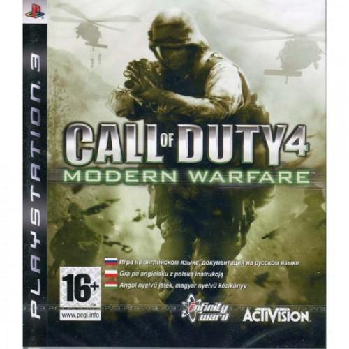 Call of Duty 4: Modern Warfare Playstation 3 Б/У купить в новосибирске