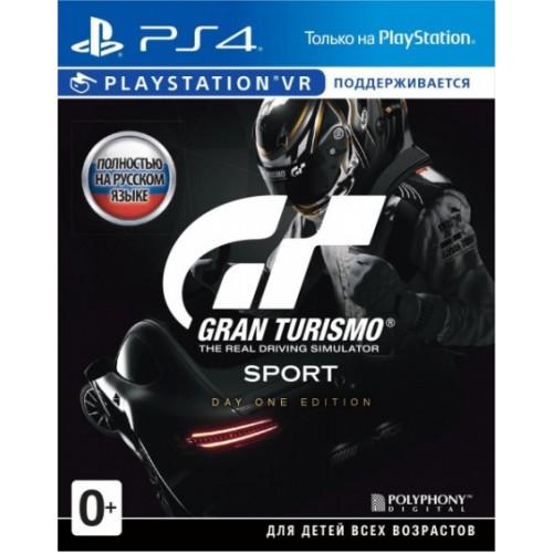 Gran Turismo Sport (новый в упаковке) купить в новосибирске