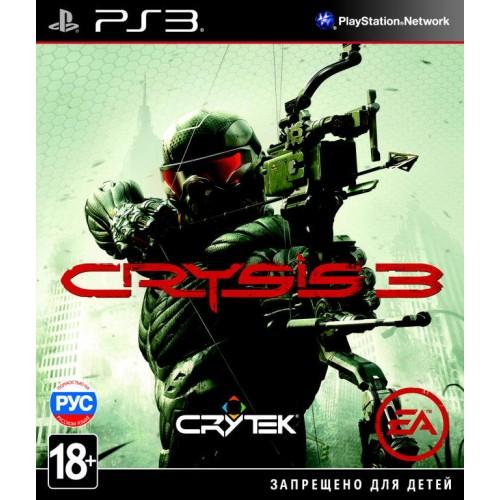 Crysis 3 PlayStation 3 Б/У купить в новосибирске
