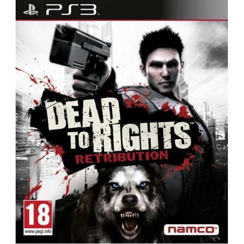 Dead To Rights Retribution PlayStation 3 Б/У купить в новосибирске