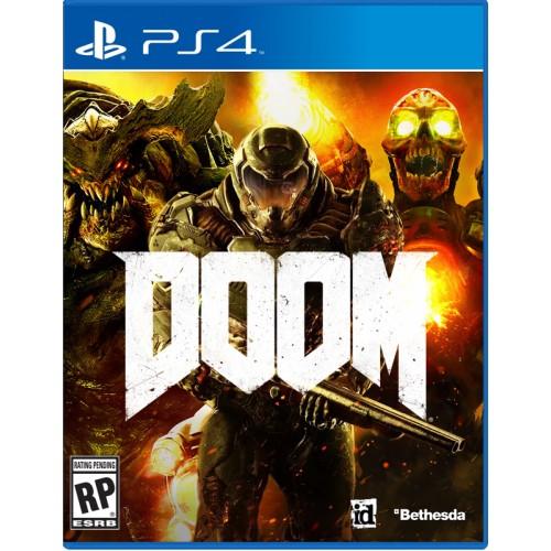 Doom Playstation 4 Б/У купить в новосибирске