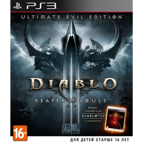 Diablo III: Reaper of Souls. Ultimate Evil Edition PlayStation 3 Б/У купить в новосибирске