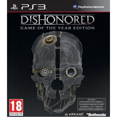 Dishonored Game of the Year Edition PlayStation 3 Б/У купить в новосибирске