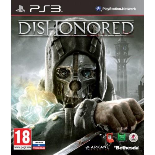 Dishonored PlayStation 3 Б/У купить в новосибирске
