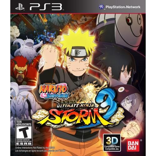 Naruto Shippuden Ultimate Ninja Storm 3 [PlayStation 3] купить в новосибирске