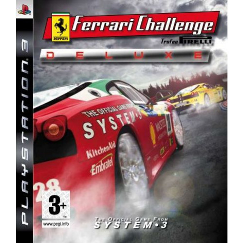 Ferrari Challenge Deluxe PlayStation 3 Б/У купить в новосибирске