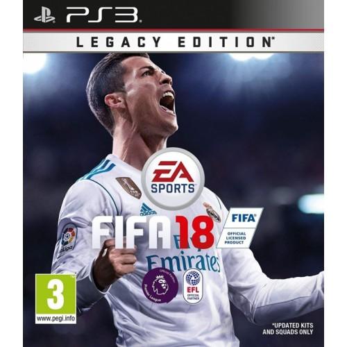 FIFA 18 PlayStation 3 Б/У купить в новосибирске
