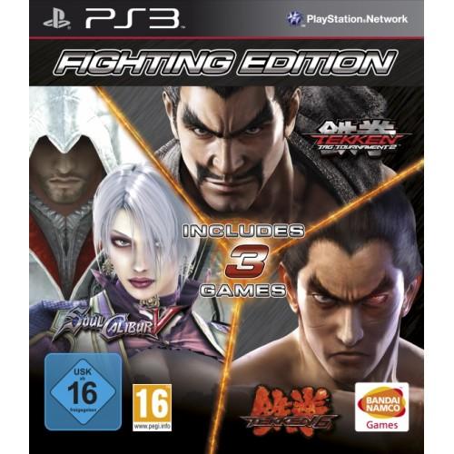Fighting Edition (Tekken 6+Soul Calibur 5+Tekken Tag Tournament 2) PS 3 Б/У купить в новосибирске