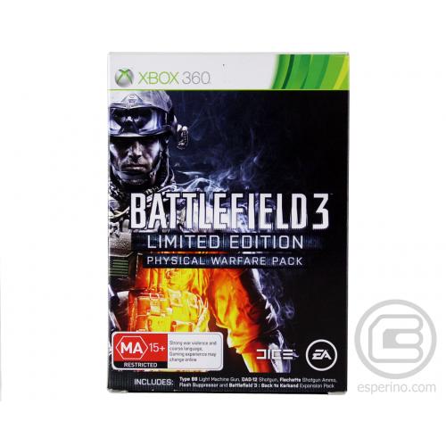 Battlefield 3 Limited Edition Xbox 360 Б/У купить в новосибирске
