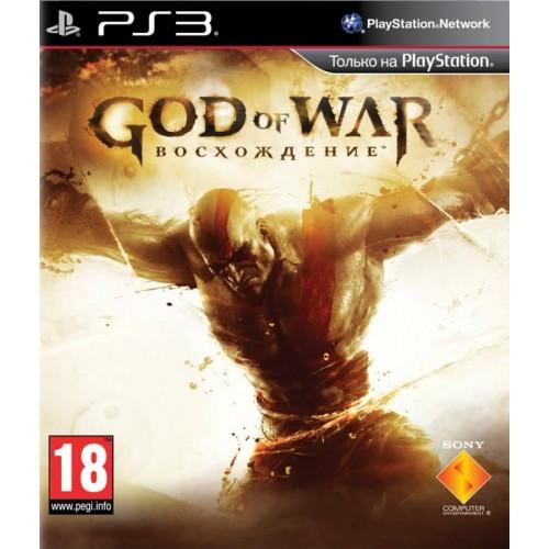 God of War: Восхождение PlayStation 3 Б/У купить в новосибирске