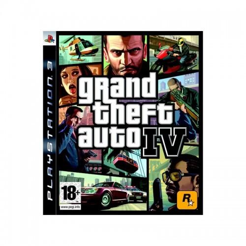 Grand Theft Auto IV (GTA 4) PlayStation 3 Б/У купить в новосибирске