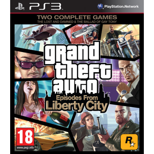 Grand Theft Auto Episodes from Liberty City [PlayStation 3] купить в новосибирске