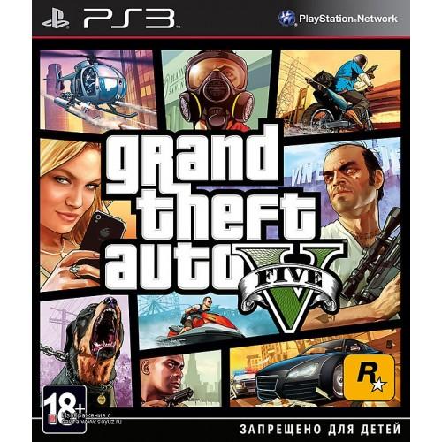 Grand Theft Auto V (GTA 5) PlayStation 3 Б/У купить в новосибирске