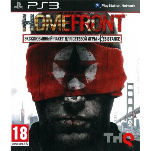 Homefront PlayStation 3 Б/У купить в новосибирске