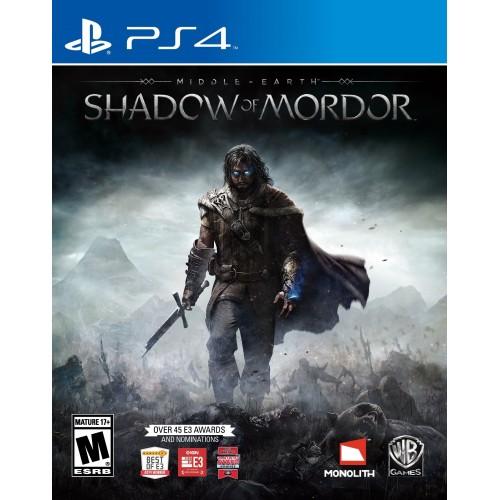 Middle Earth: Shadow of Mordor PlayStation 4 Б/У купить в новосибирске