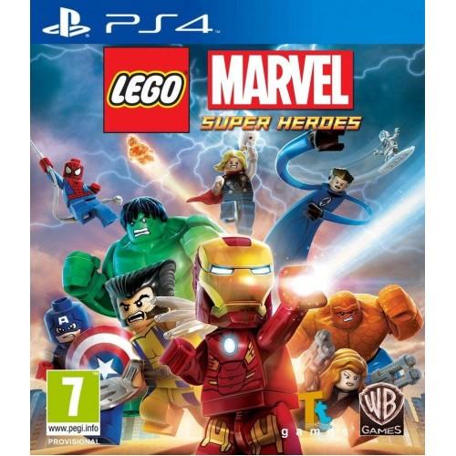 LEGO Marvel Super Heroes на PS4 Б/У купить в новосибирске
