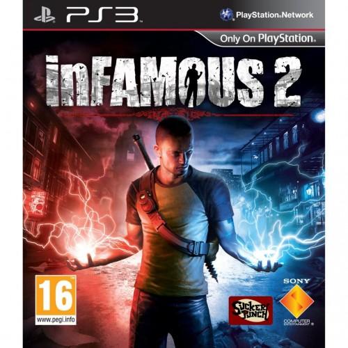 Дурная репутация 2 PlayStation 3 Б/У купить в новосибирске