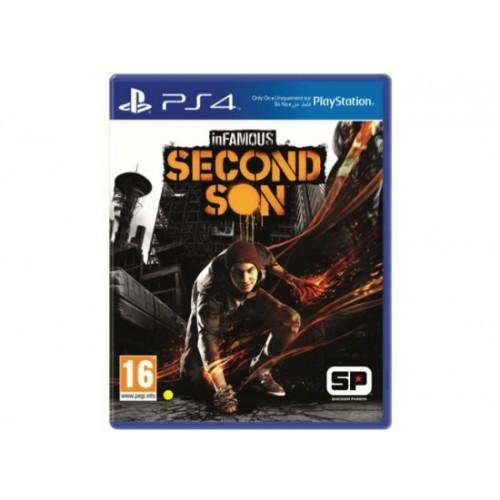 InFamous: Second Son PlayStation 4 Новый купить в новосибирске
