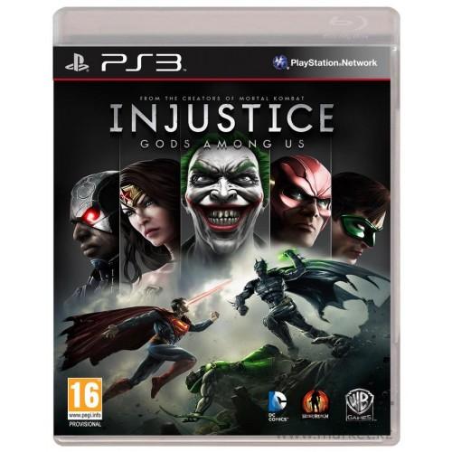 Injustice: Gods Among Us PlayStation 3 Б/У купить в новосибирске