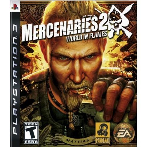 Mercenaries 2 World in Flames PlayStation 3 Б/У купить в новосибирске