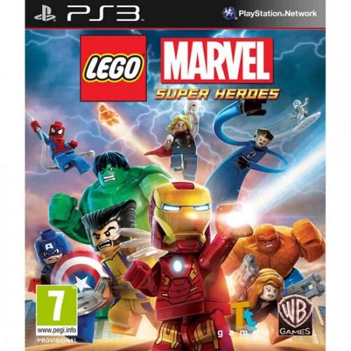 LEGO Marvel Super Heroes PlayStation 3 Б/У купить в новосибирске
